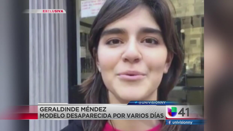 Modelo mexicana desaparecida habla a su salida del hospital