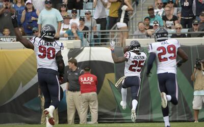 Primera victoria fuera de casa para Texans en Jacksonville