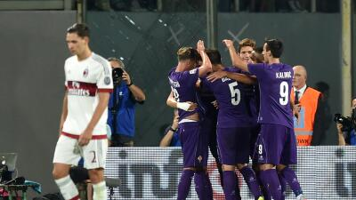 Fiorentina ganó por 2-0.