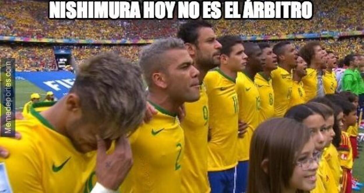 El juego de México-Brasil inundó las redes sociales de comentarios... Lo...
