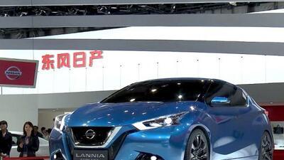 El Lannia fue el concepto estrella de Nissan en el Autoshow de China.