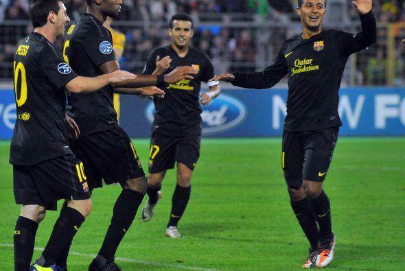 El cuadro 'blaugrana' fue liderado por Lionel Messi y no tuvo piedad del...