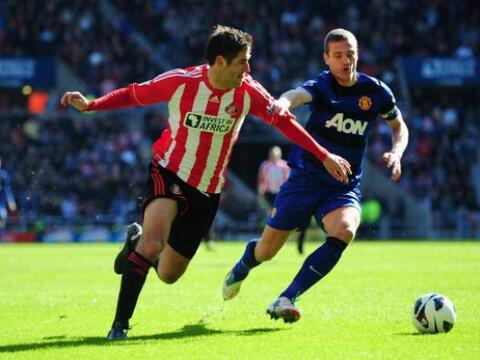 Manchester United visitó al Sunderland buscando consolidar su ven...