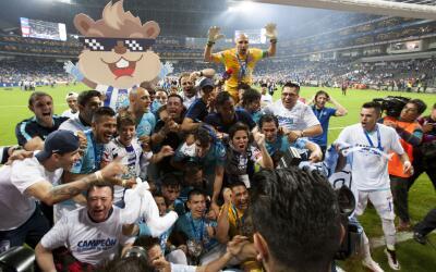 Pachuca volvió a ser campeón en Monterrey.