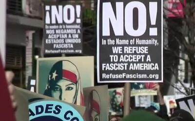 """'Nueva York en un Minuto': miles de personas asistieron a la marcha """"no..."""