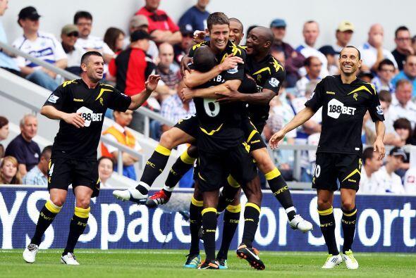 La goleada de la fecha lo propinó el Bolton. Le ganó 4 a 0...