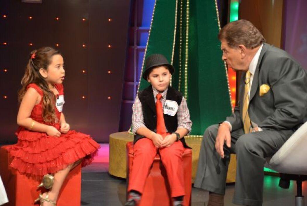 Con los niños de la conversación Don Francisco les preguntó cómo se habí...
