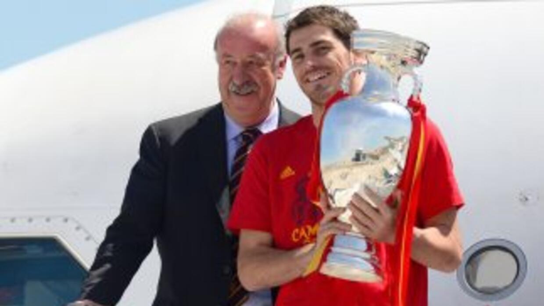 El técnico de 'La Roja' no deja de respaldar la categoría de Casillas, d...