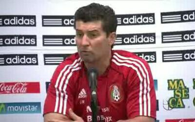 Jose Manuel de la Torre dio su análisis del partido en conferencia de pr...