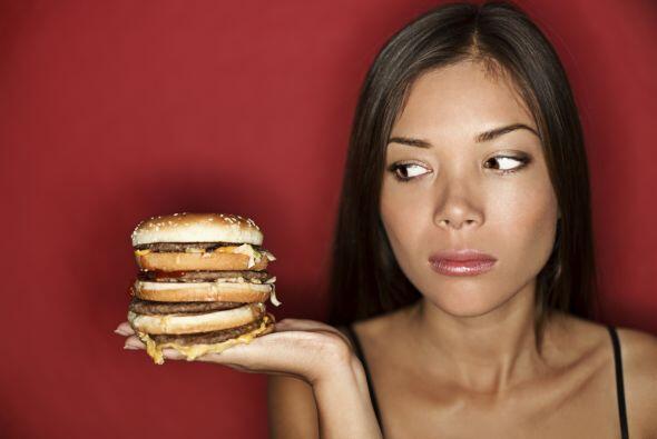 Recuerda que consumir un tipo de alimentos no es lo que engorda, ¡...
