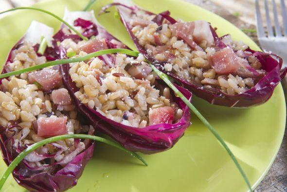 ¿Te imaginas un 'risotto' con quinoa, champiñones y lechuga? Es posible...