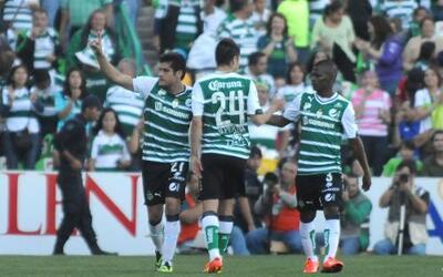 Santos derrotó 2-0 al Toluca en la fecha 5 de la Liga MX.