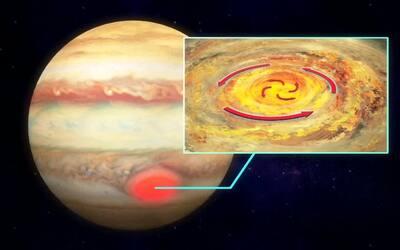 La gigantesca mancha roja de Júpiter muestra un sorpresivo hallazgo