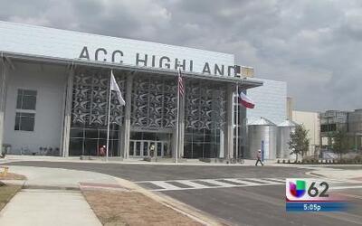 Inauguración del colegio ACC