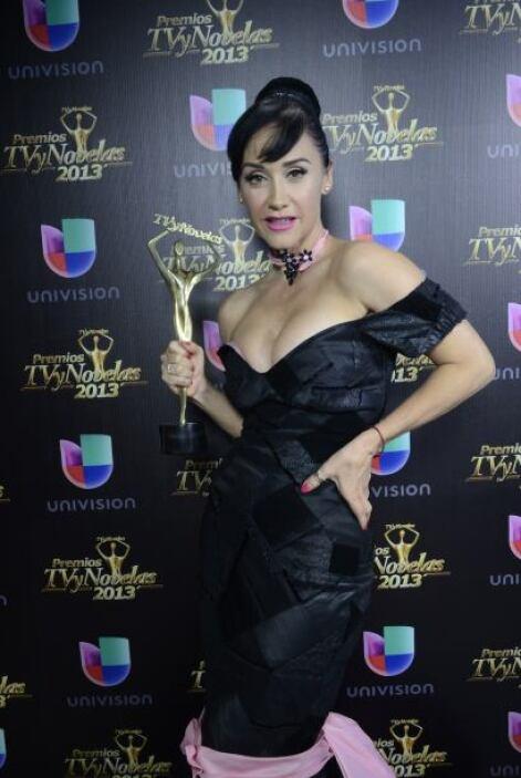 Susana Zabaleta se llevó su reconocimiento al Mejor Programa de Televisi...