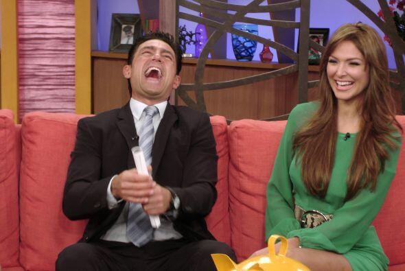 A Fernando le encantó hacer reír en la televisión a los televidentes.