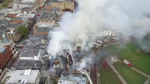 Se incendia el hotel más antiguo de Gran Bretaña