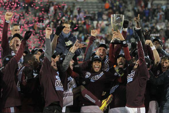 Colorado se convirtió en el primer finalista de la Copa MLS 2010, la cua...