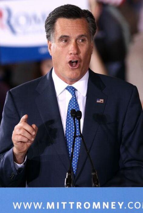 """¿Cuál es el """"verdadero"""" Romney? ¿Un moderado que solía favorecer el dere..."""