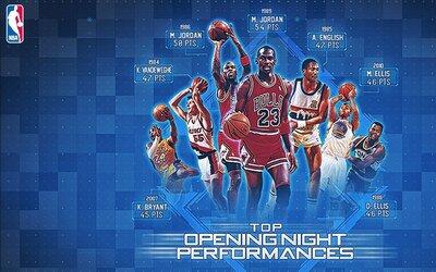 Los primeros juegos de la temporada de la NBA sirven para demostrar el d...