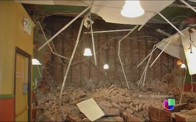 El norte de California se repone del sismo que provocó graves daños