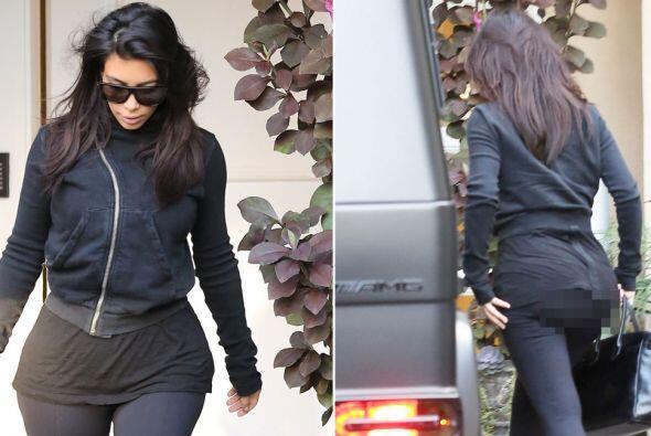 No es la primera vez que esto le ocurre a la Kardashian.