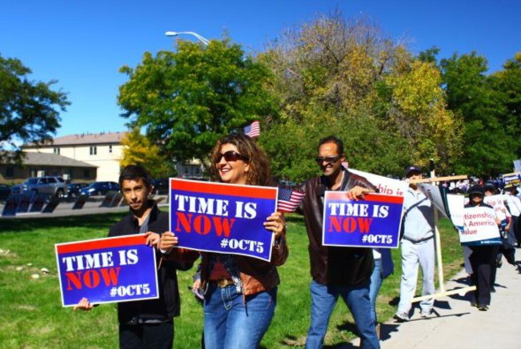 La manifestación culminó con una serie de actividades.
