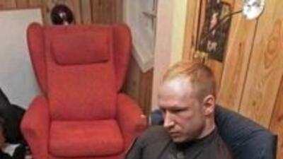 El ultraderechista Anders Behring Breivik es autor confeso de los atenta...