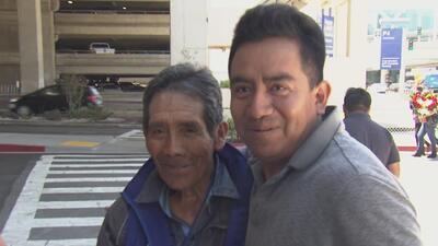 Inmigrantes de Los Ángeles se reúnen con sus familias tras varios años d...