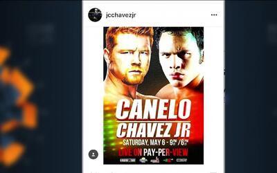 Saúl 'Canelo' Álvarez' y Julio César Chávez Jr. habrían llegado a  un ac...