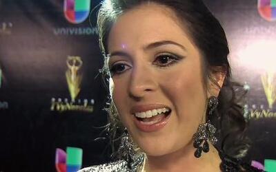 Maity no aguantó las lágrimas al recibir su Premios Tv y Novelas