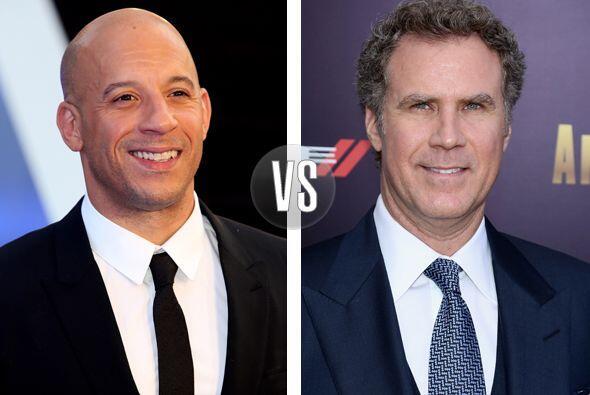 OMG! Aunque no lo creas Vin Diesel y Will Ferrell tienen 46 años....