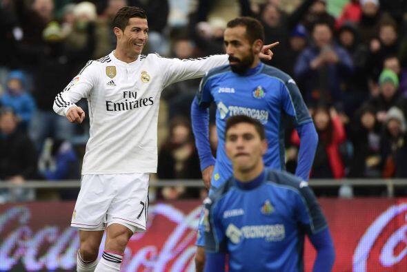 El primer gol caía la minuto 63, marcado por el astro Cristiano Ronaldo.