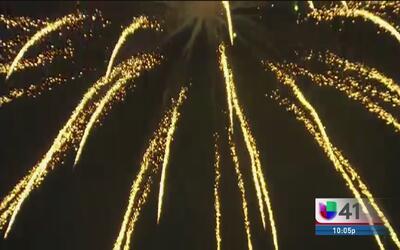 Emotiva celebración del 4 de julio en el parque Woodlawn
