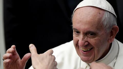 """El Papa Francisco espera que el Super Bowl """"sea un símbolo unión y de paz"""""""