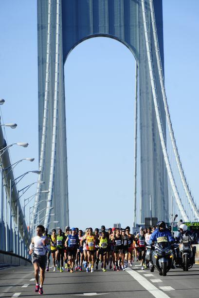 El Puente Verrazano-Narrows conecta los distritos de Staten Island y Bro...