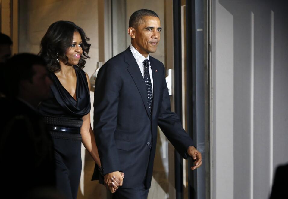 Michelle y Barack Obama: los amantes de la Casa Blanca GettyImages-45853...