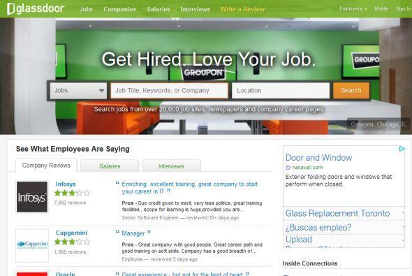 Glassdoor: Si encontraste un trabajo que parece que vale la pena pero no...