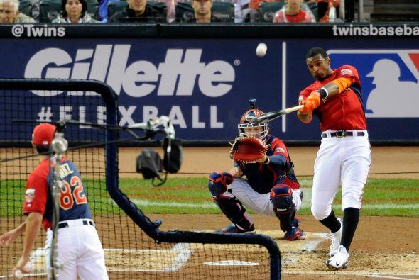 El pelotero de los Orioles de Baltimore, Adam Jones , llegó hasta la seg...