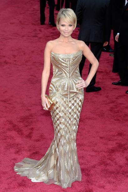 El vestido de Kristin Chenoweth tenía una forma tan rara, que has...