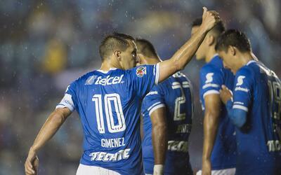 Cruz Azul derrotó 3-1 a Leones Negros y aseguró el liderato de grupo en...
