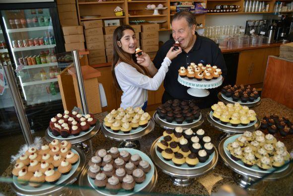 """EN Miami, una de las mejores """"cupcakerias"""" es Sweetness y tiene más de 1..."""