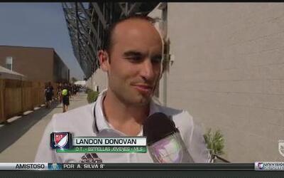 Landon Donovan espera un gran partido de las Estrellas de la MLS vs Méxi...