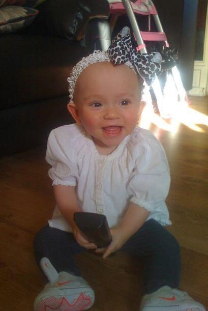 Esta pequeña acaba de cumplir dos años, pero cuando nació los médicos cr...
