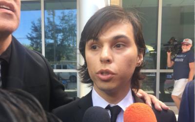Al salir de la corte, Joao Aguilera dijo que no había visto a su...