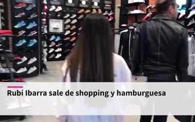 Rubí Ibarra se fue de shopping a un mall (y está enamorada de las hambur...
