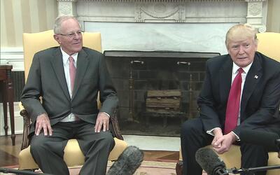 """Trump dice que tiene """"un problema"""" con Venezuela"""