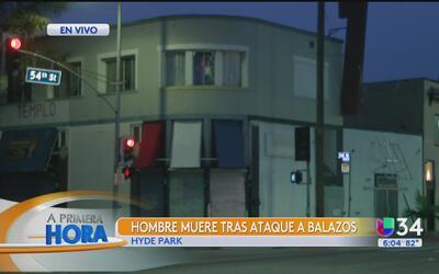 Tiroteo mortal dejó un fallecido en el sur de Los Ángeles