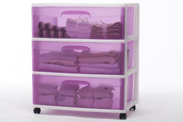 Otra manera eficiente de guardar sábanas, toallas o ropa de cama...