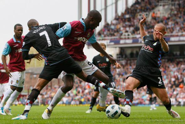 Aston Villa tuvo que luchar para poder vencer al West Ham.